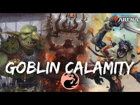 Goblin Calamity [MTG Arena] | Mono-Red Krenko Cavalcade Deck
