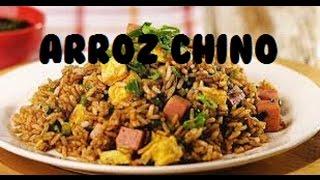 Arroz chino frito en casa Fácil delicioso casero