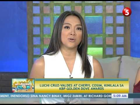 News5E: LUCHI CRUZ-VALDES, CHERYL COSIM WIN KBP GOLDEN DOVE AWARDS