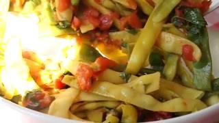 """fagiolini"" Green, Yellow & Flat Beans Italian Style"