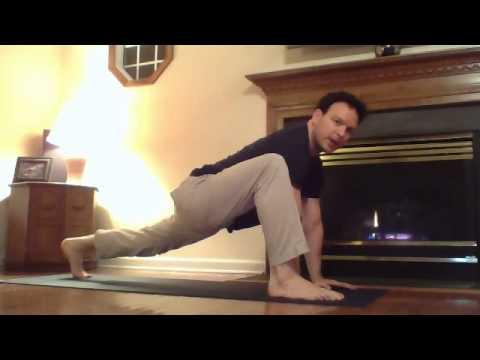 lizard pose bind utthan pristhasana  free yoga video
