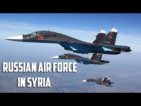 Russian Air Force in Syria 2017