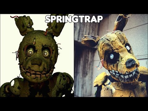 Five Nights At Freddy's Characters In Real Life