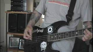 Motorhead,Tear Ya Down,Bass cover