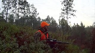 Public land quota hunt in Georgia
