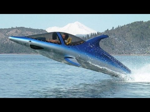 Invention a Day - Episode #107: The semi-submersible watercraft