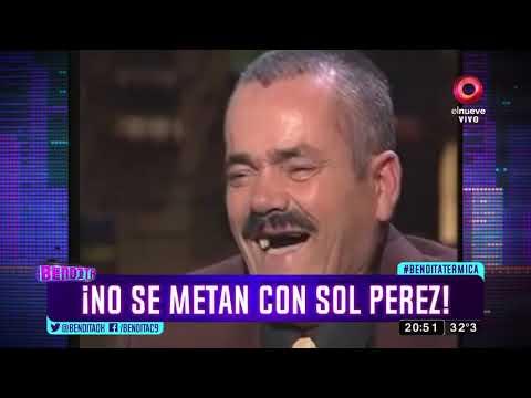¡No se metan con Sol Pérez!