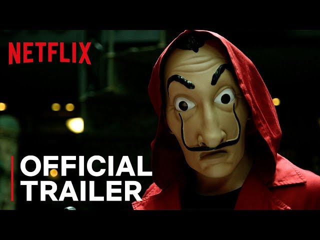 Netflix Drops Action-Packed Trailer For 'Casa De Papel' (Money Heist