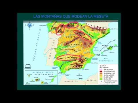 localitzacio i relleu d'Espanya