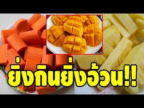 ยิ่งกินยิ่งอ้วน!! รวม 7 ผลไม้เพิ่มน้ำหนัก แคลอรี่สูงสุดยอด ไม่อยากอ้วนอย่ากิน!!