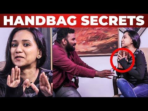 Deepthi's Handbag Secrets Revealed | Adhu Idhu with Ayaz | Black Sheep | What's Inside the HANDBAG