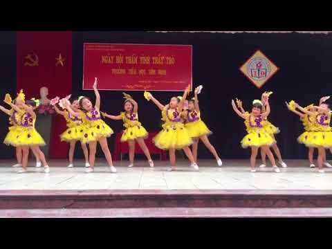 Múa   Ngày đầu tiên đi học     TH Tân Định   YouTube