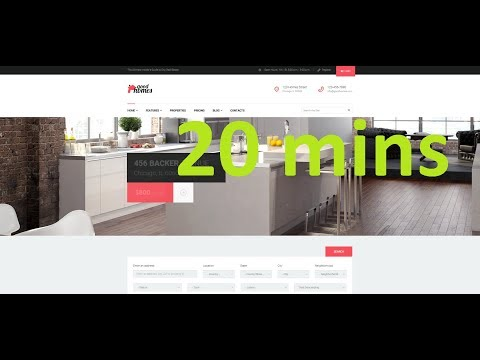 How to make a Real Estate Website in less than 20 mins