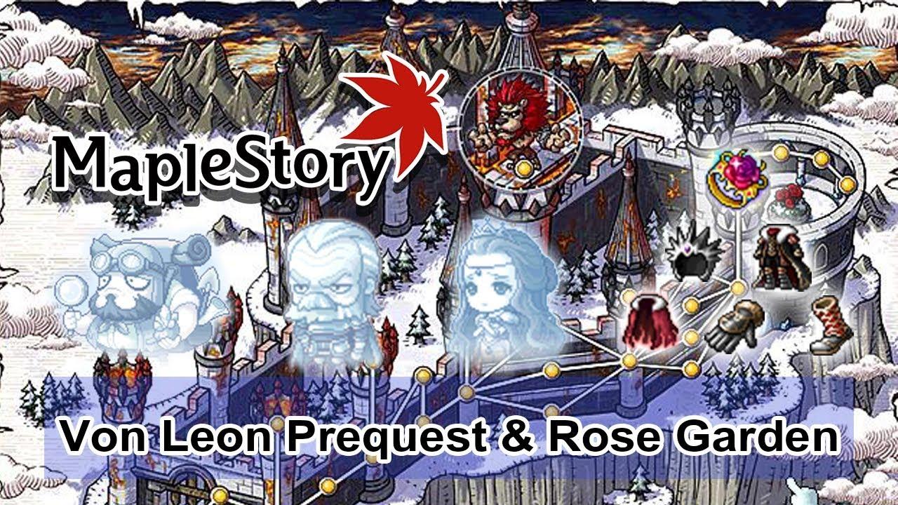 MapleStory Thai - Lion King's Castle (Von Leon Prequest) & Rose Garden