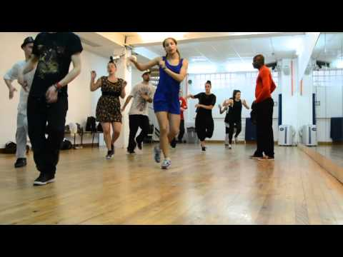 jazz rock dance basic routine of christian truand jazzrock