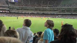 Aussie Chant at the cricket match