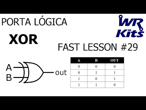porta l gica xor fast lesson 29 youtube
