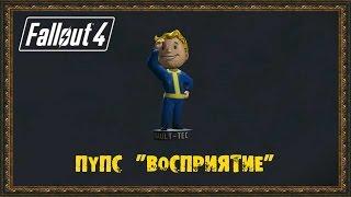Fallout 4 - Пупс Восприятие