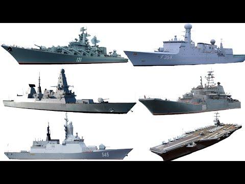 Изучаем водный транспорт для детей. Военно-морской флот.