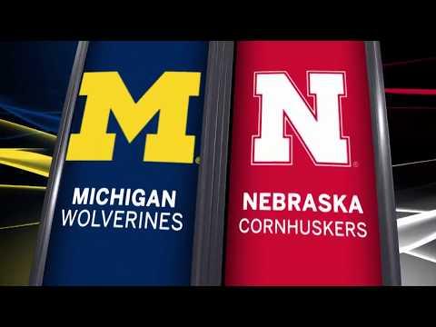 Big Ten Basketball Highlights: Michigan at Nebraska
