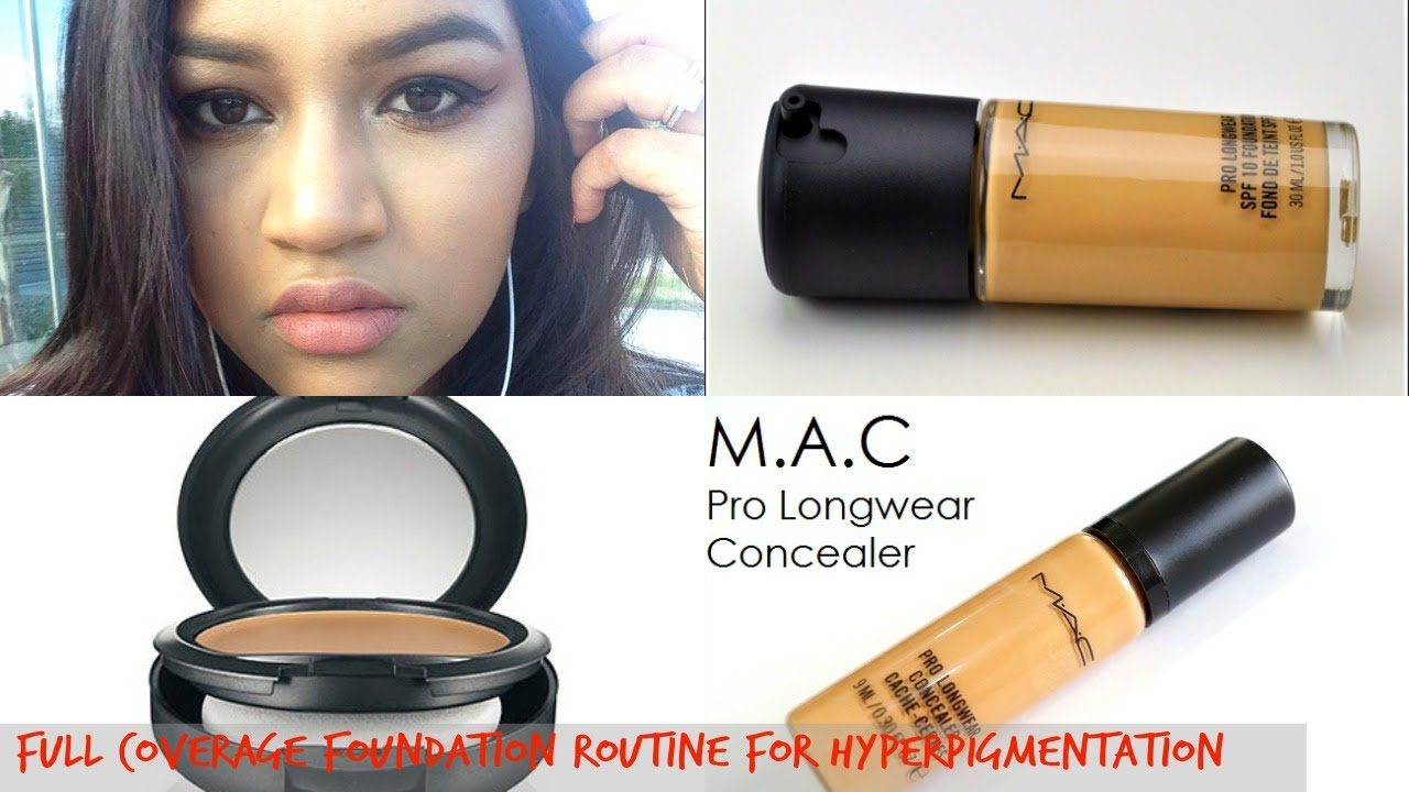 Mac prolong foundation NC45 full coverage foundation routine ...