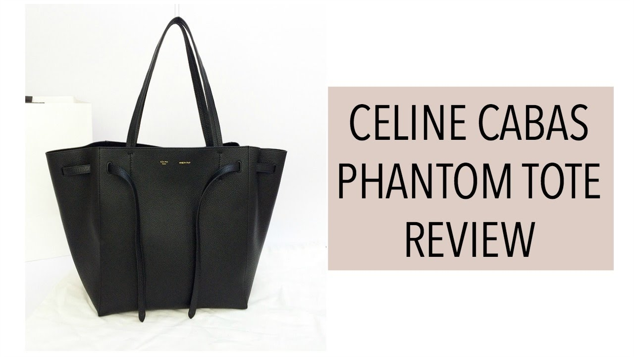 6dcf656217e5 Celine Cabas Phantom Unboxing Review + New Hair