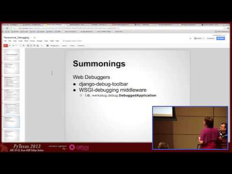 Image from Paranormal Debugging (Lightning Talk)