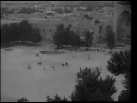 Rare footage: Polo in Isfahan, Qajar dynasty
