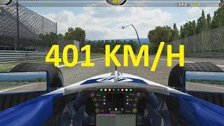 401 KM/H in Monza | F1 Challenge 99-02