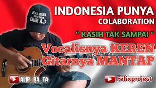 Download Lagu KEREN ‼️ ALIP_BA_TA SELALU TAMPIL MENARIK - KASIH TAK SAMPAI - FINGERSTYLE COVER mp3