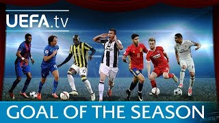 Goal of the Season 2016/17 - See the nominees