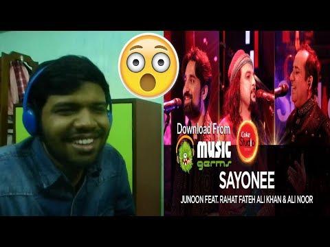 Junoon Feat Rahat Fateh Ali Khan & Ali Noor|Sayonee|Coke Studio Season 10|Reaction & Thoughts