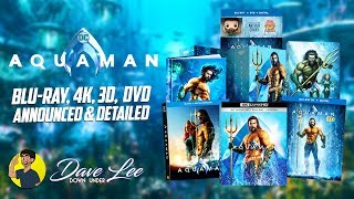 Aquaman Blu Ray 4k 3d Dvd Announced Detailed Youtube