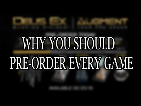 Why you should pre-order every game