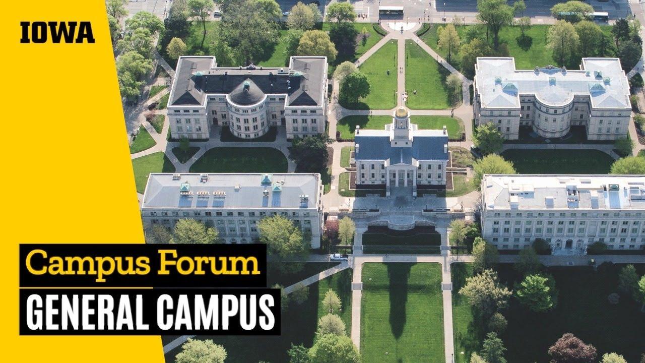 Campus Forum: General Campus (June 25 - 10 a.m.)
