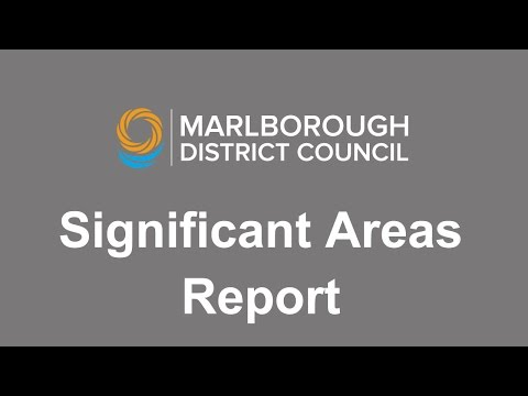 Significant Areas Report July 2016 by Rob Davidson
