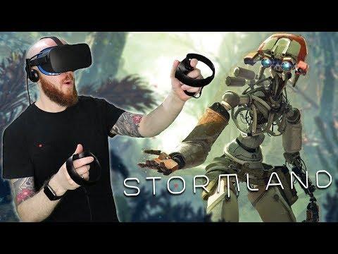 Stormland Oculus Rift Gameplay – Oculus Connect 5