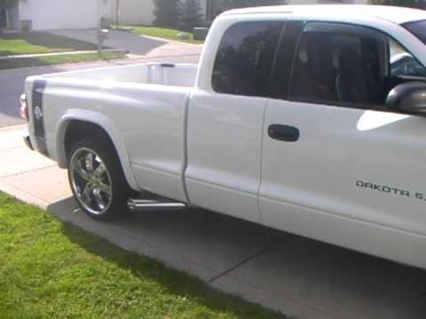 2000 Dodge Dakota R T With Side Exhaust Youtube