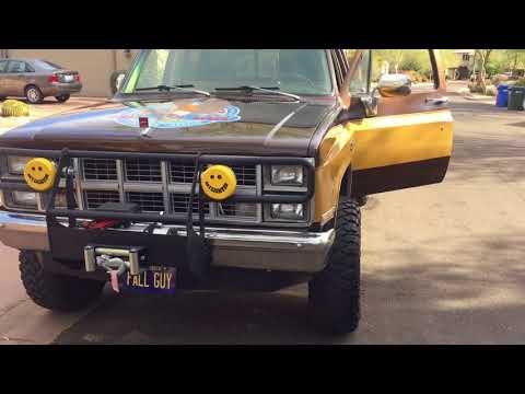 Fall Guy Truck Lee Majors