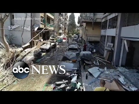 Beirut rocked by deadly blast