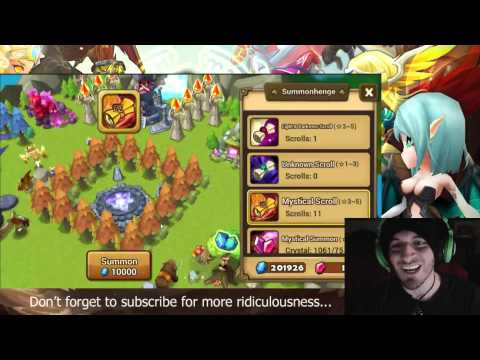 SUMMONERS WAR : EPIC TRICK!!! 11 Mystical Scrolls for 200 crystals. Better than Premium pack.