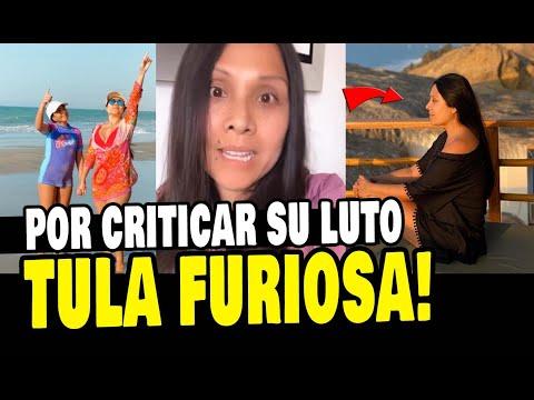 TULA RODRIGUEZ FURIOSA POR CRITICAR SU LUTO TRAS PERDER A SU ESPOSO