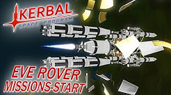 KERBAL SPACE PROGRAM EVE ROVER START Kerbal Space Program Deutsch German Gameplay