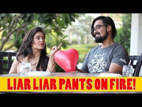 Liar Liar Pants On Fire Ft. Akash Dodeja, Anmol Sachar | Simran Dhanwani