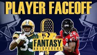 2019 Fantasy Football Faceoff- Aaron Jones vs Devonta Freeman