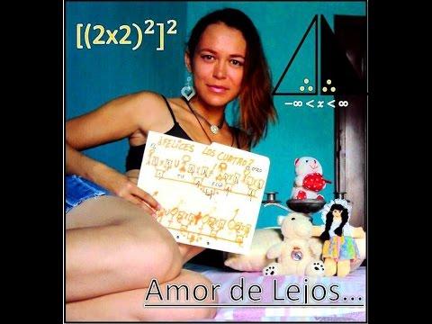 Amor De Lejos Felices Los Cuatro Divertida Matematica Youtube