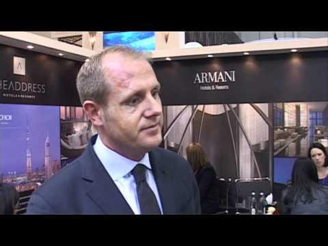 Aaron Kaupp, General Manager, Armani Hotel Milano @ ITB Berlin 2012
