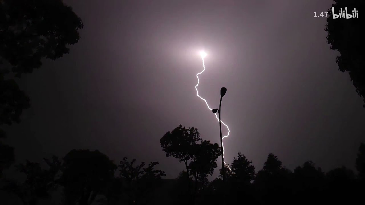 Check Lightning Captured by Xiaomi Mi 11 Ultra - Slow Motion Video