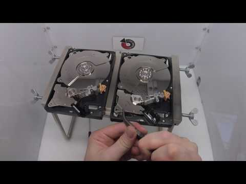 Western Digital WD1001FALS Head Swap - Affordable Clean Room Data Recovery by $300 Data Recovery