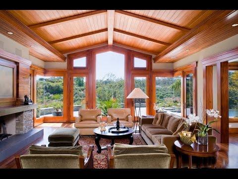 Деревянный потолок в доме: уют и тепло